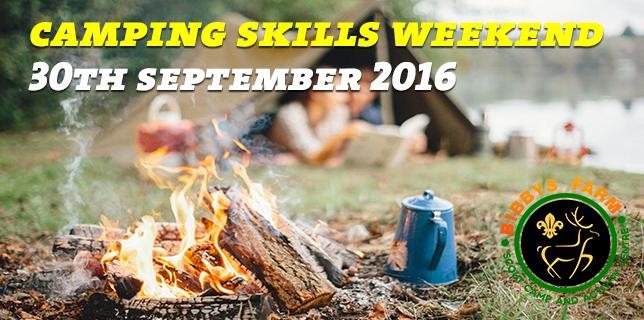 Camping Skills Weekend
